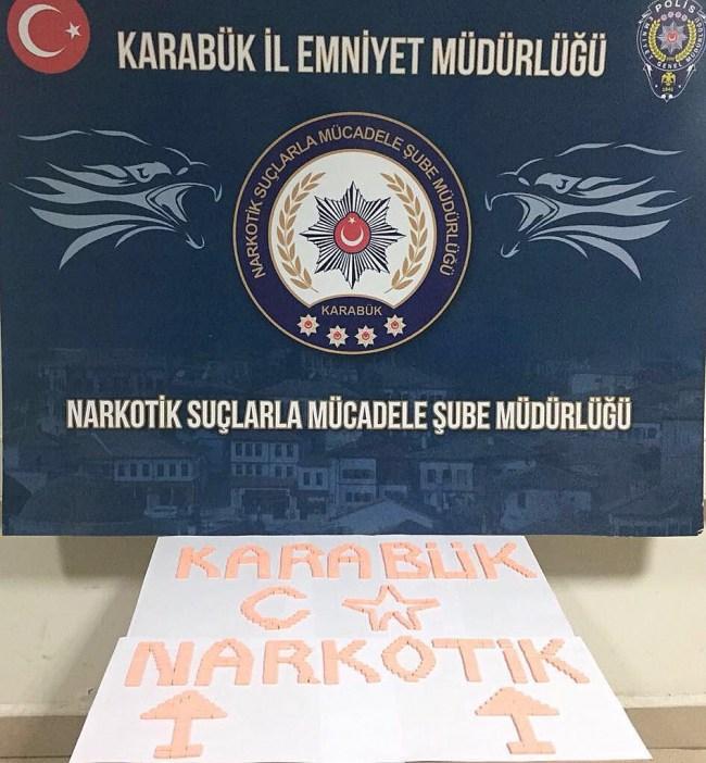 Karabük'te Zehir Taciri operasyonu