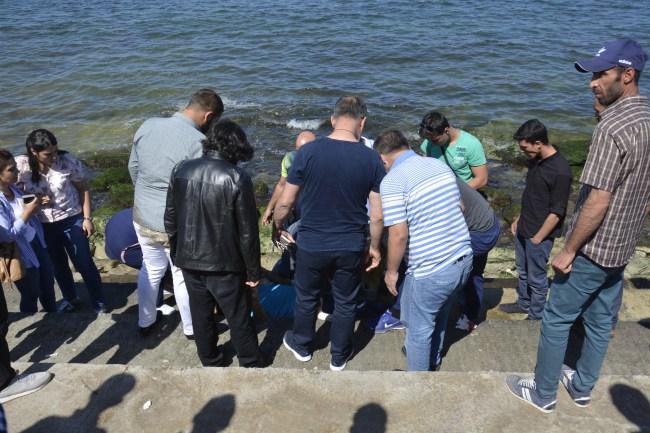 Liman bölgesinde Merdivenden düşen kişi; ağır yaralı