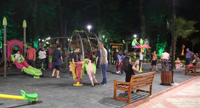 Bartın'da Gazhane Kültür Parkı halktan yoğun ilgi