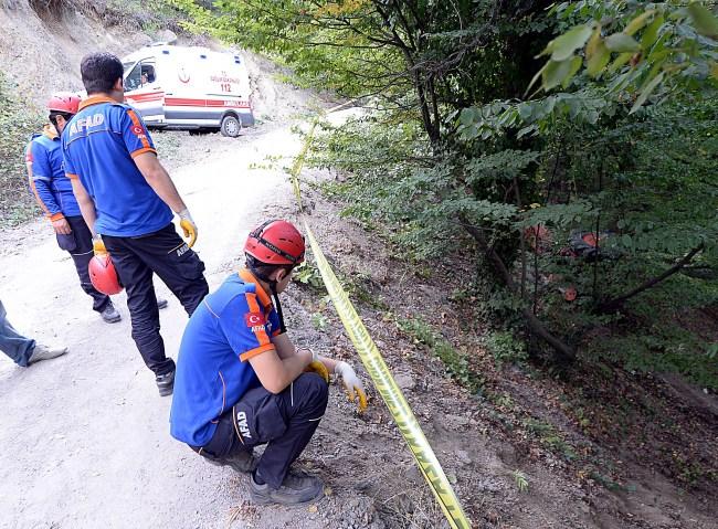 Karabük'te Traktör Kazasında 1 ölü