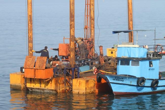 Mahmuzlar için deniz dibi sondaj çalışması