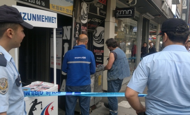 TRAFOYA GİREN FARE, POLİS VE İTFAİYEYİ SEFERBER ETTİ