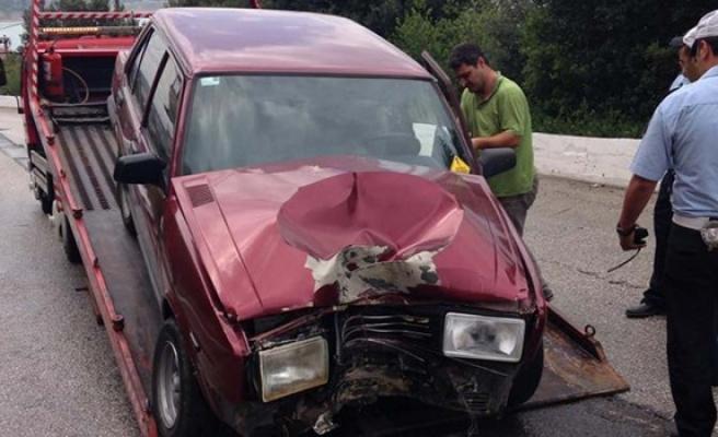 Alaplı´ da trafik kazası