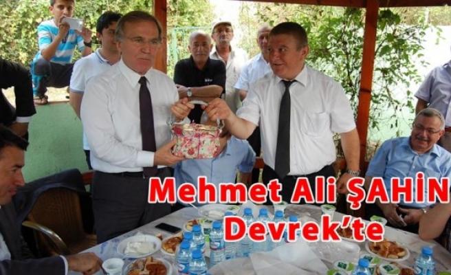 Mehmet Ali ŞAHİN Devrek´te konuştu, 12´den vuracaksınız