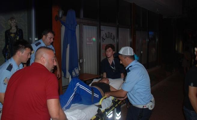 Sara krizi tutan kadının yardımına polis koştu