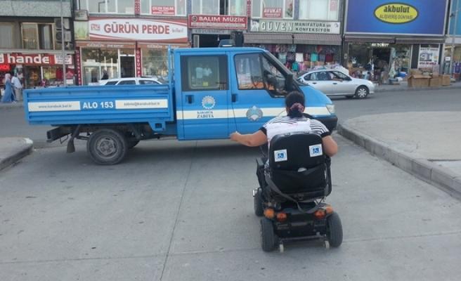 Engelliye engel eziyeti