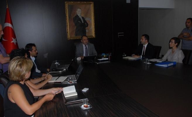 Projeler toplantı ile ele alındı
