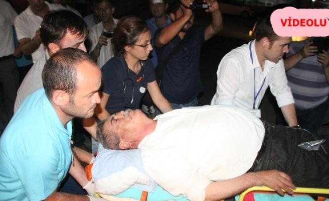 Ereğli´de pat-pat kahveye girdi, 4 kişi yaralandı