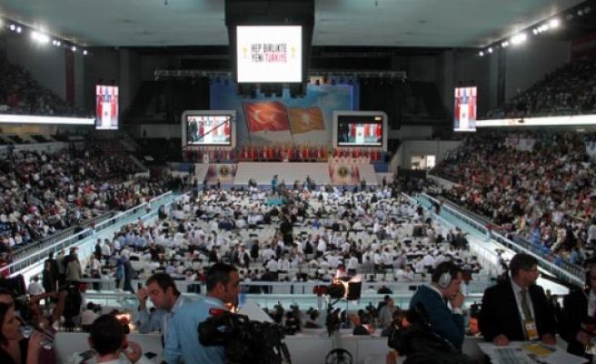 Ak parti´de kongre günü