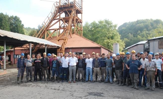 Maden işçileri yine eylem başlattı