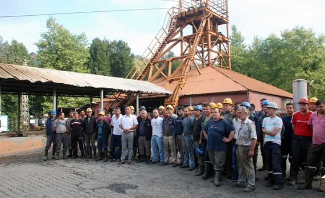 Sorun çözülene kadar maden ocağına inmeyecekler