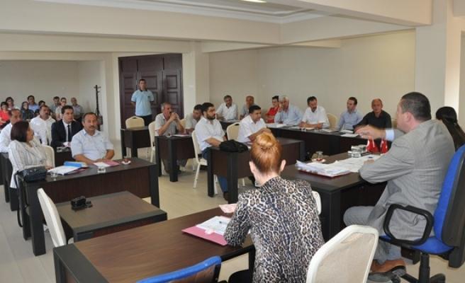 Eylül ayı olağan toplantısının ilk oturumu tamamlandı