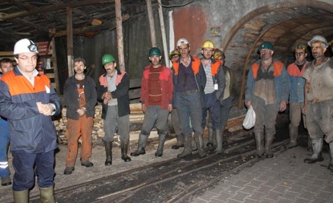 4 bin 500 madenci işsiz kaldı