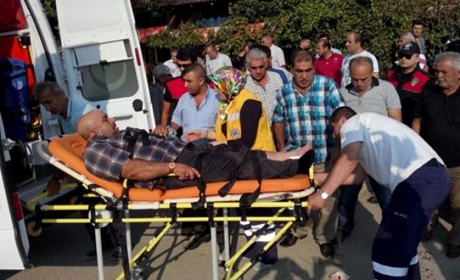 İki kardeşin bıçaklı ve silahlı kavgası kanlı bitti