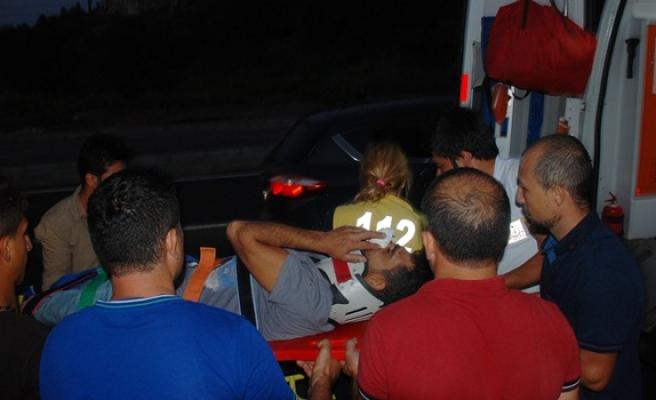 Ereğli´de kaza,inşaat işçisi ağır yaralandı