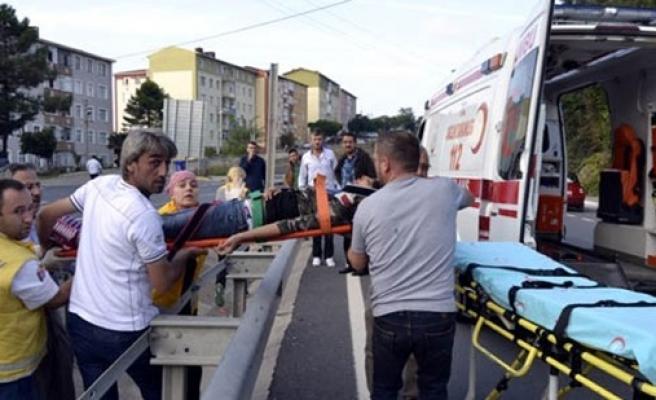 Erdem yuvada feci kaza Belediye Başkanını isyan ettirdi