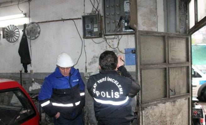 10 bin Volt elektriğe kapıldı