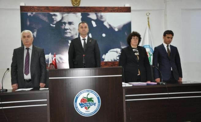 Belediye meclisinin 4.bileşimi yapıldı
