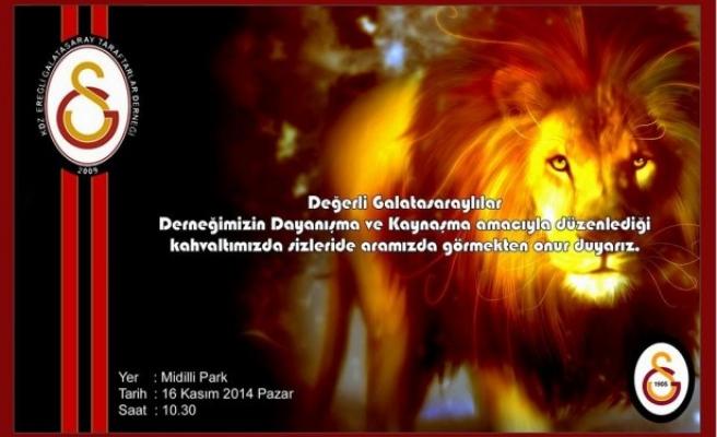 Kdz Ereğli Galatasaray Taraftarlar Derneği kahvaltı düzenleyecek