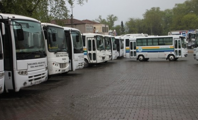 Özel halk otobüsleri için 65 yaş müjdesi!