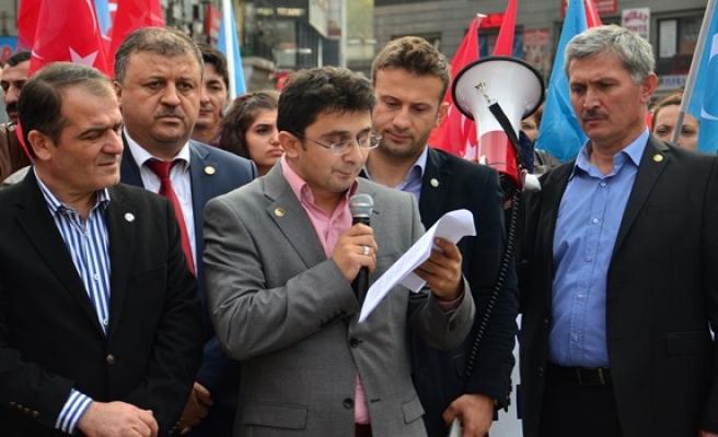 Genç Memur-Sen'den Bayırbucak Türkmenlerine destek