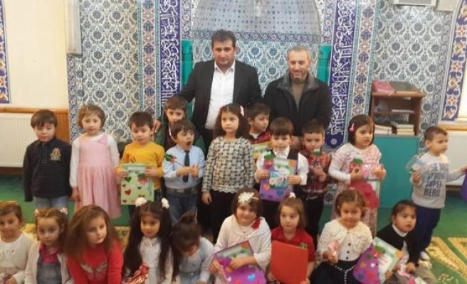 Zonguldak´ın ,İlk ve tek 4-6 yaş  grubu Kur'an kursu Kandillide açıldı