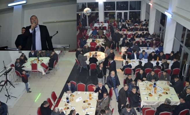 Alaplı Belediye Spor yararına dayanışma gecesi düzenlendi
