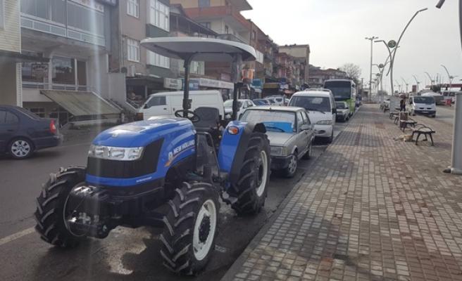 Alaplı´da 515 tescilli traktör bulunuyor
