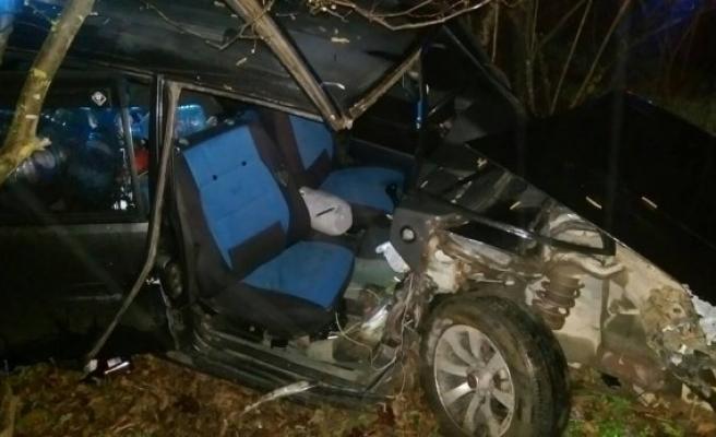 Alaplı'da kaza: 1 yaralı