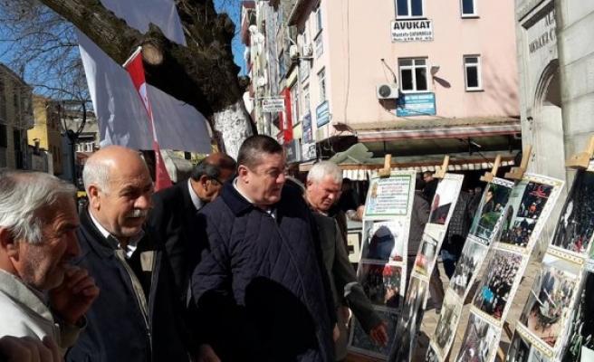 Erbakan resim sergisi açıldı