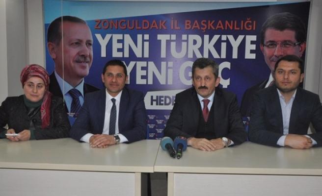 Ak Parti İl Başkanı Zeki Tosun saldırıyı kınadı
