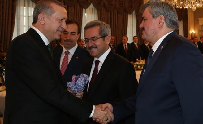 Çaturoğlu, Zonguldak'ın sorunlarını Cumhurbaşkanı Erdoğan'a aktardı