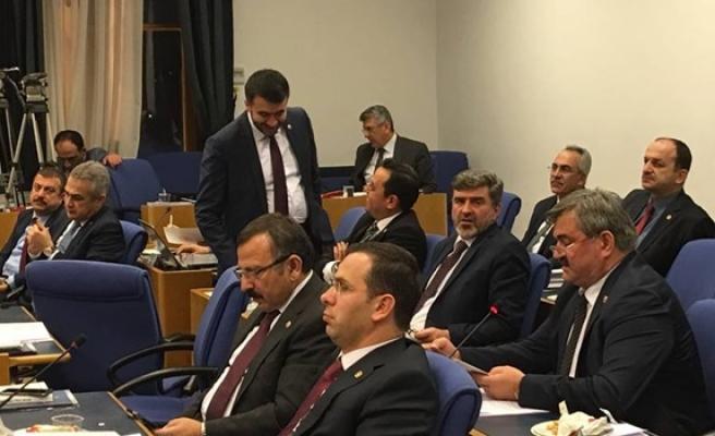 Çaturoğlu, Zonguldak'ın sorunlarını dile getirdi