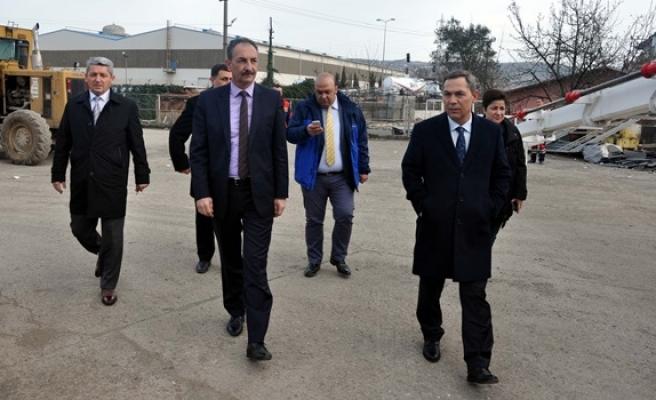 Kdz. Ereğli Belediyesi şantiye binası hizmete girdi