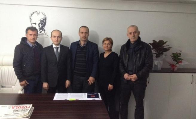 KGD, Yeni (BİK) Müdürü Ali Nuhoğlu'nu ziyaret etti