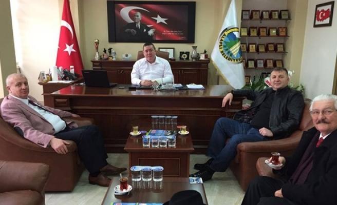 Yazıcıoğlu Kardeşler´den,Başkan Tekin´e ziyaret