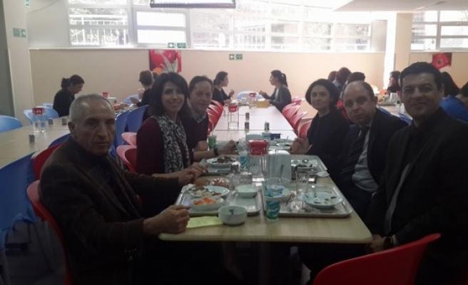 Çataklı,Hisar Okulları ve Özel Taş İlköğretim Kurumlarını ziyaret etti