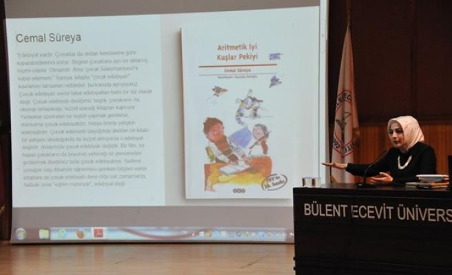 Zeynep Sevde Paksu BEܒde çocuk edebiyatı'nı anlattı