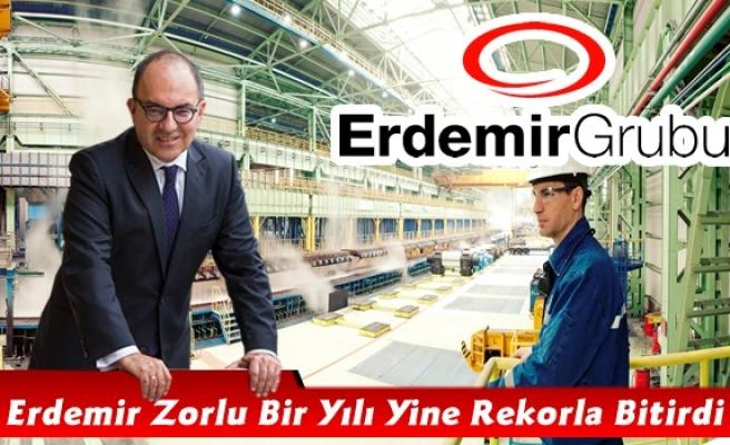 Erdemir zorlu bir yılı yine rekorla bitirdi.