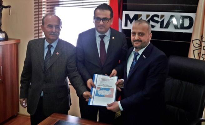 Milletvekili Ünal Demirtaş, MÜSİAD'da teşvik ve birlikteliğe vurgu yaptı