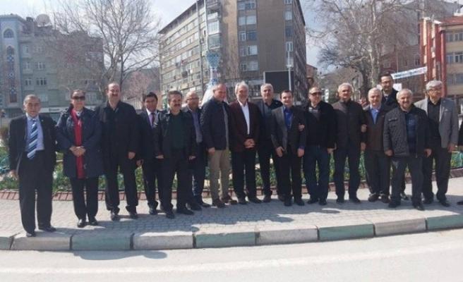 Belediye Başkanları Birliği, Kütahya´da bir araya geldi.
