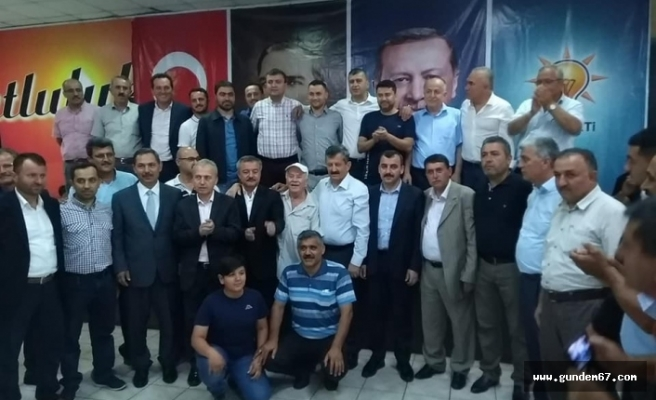 AK Partili Vekillerden Alaplı'ya Teşekkür Ziyareti