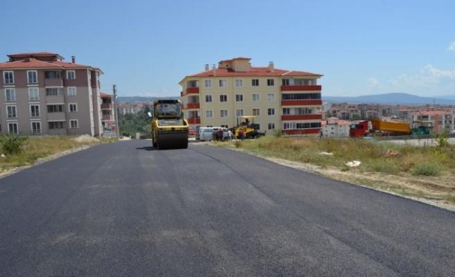 Karabük Belediyesi asfalt çalışmaları