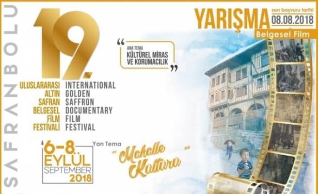 """""""Uluslararası Altın Safran Belgesel Film Festivali'' son başvuru tarihi"""