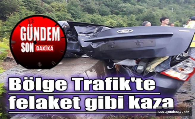 Bölge Trafik'te felaket gibi kaza