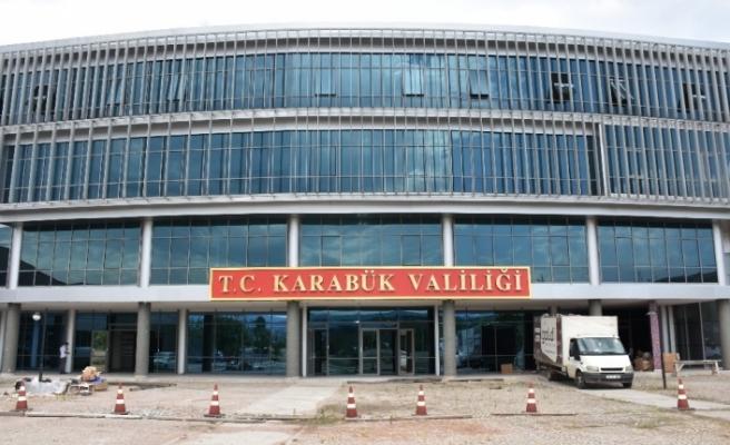Karabük Valiliği hafta başında yeni binasında hizmete başlayacak