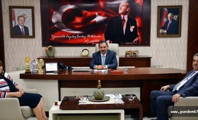 Töre, Başkan Uysal'ı ziyaret etti