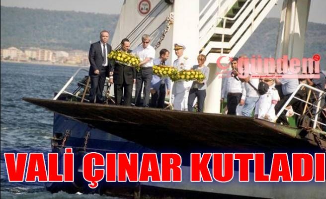 Vali Çınar kutladı