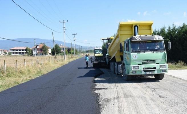 Arapçiftliği Mahallesi asfaltına kavuştu...