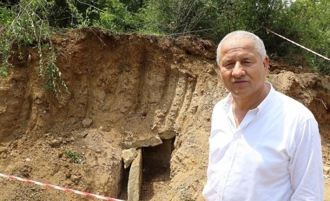 Bin 800 yıllık mezar ortaya çıktı!
